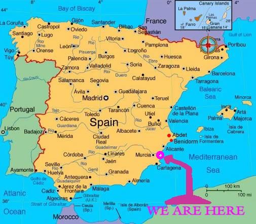 Karta Fran Alicante Till Torrevieja.Karta Alicante Torrevieja Aigb